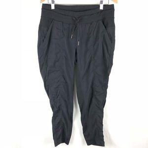 Lululemon joggers black loose fit pants size 12